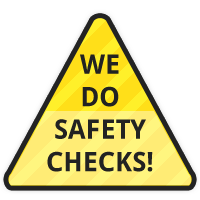 We do safety checks on your trailers and towing items